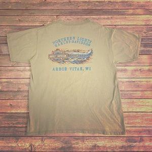 Harley Davidson Vintage T Shirt Size Large